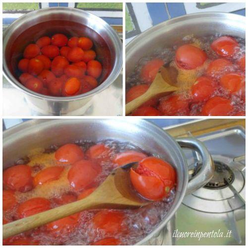 cuocere pomodori