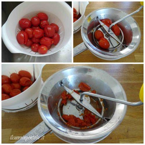 passare pomodori