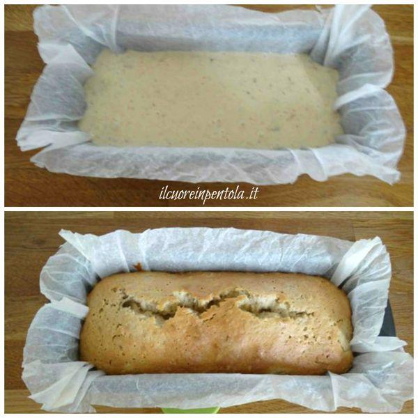 cuocere banana bread in forno