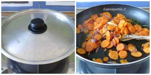 coprire e lasciare cuocere