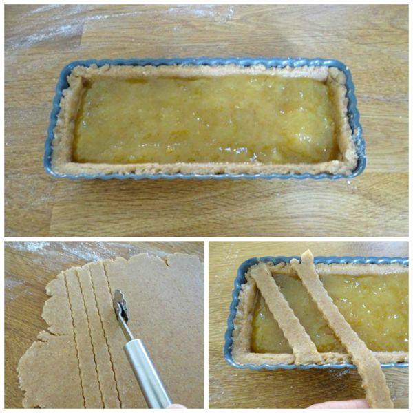 farcire e decorare crostata