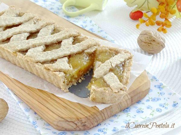 crostata con marmellata di fichi
