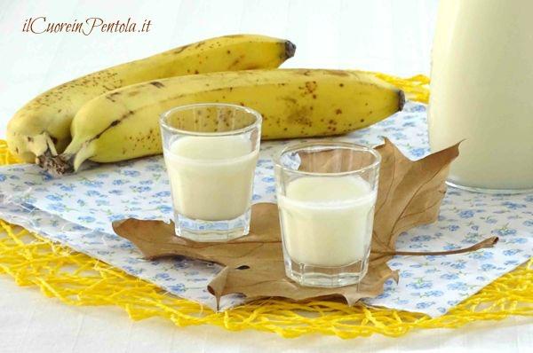 Bananino Liquore Alla Banana Ricetta Il Cuore In Pentola