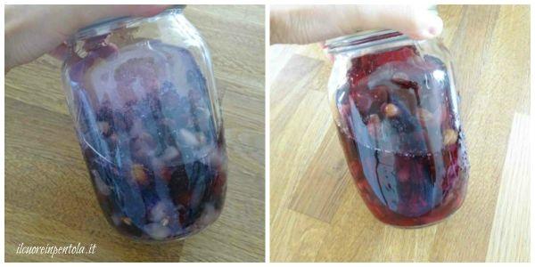fare macerare uva