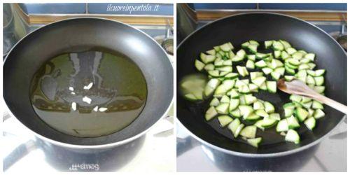 soffriggere zucchina