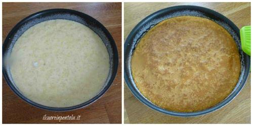 cottura torta di riso dolce