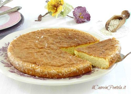 torta di riso dolce