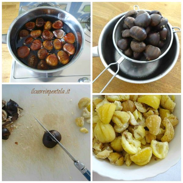 bollire castagne