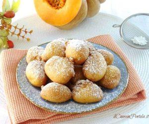 Frittelle di zucca dolci