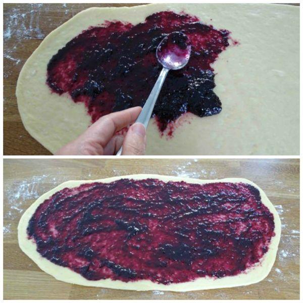 stendere marmellata sulla supeficie