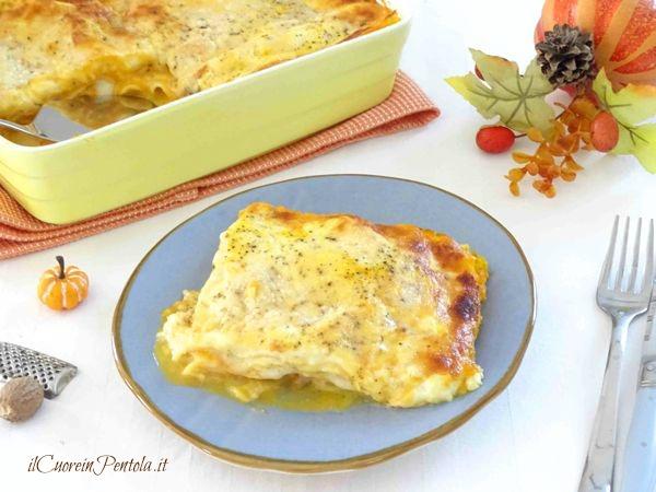 lasagne alla zucca