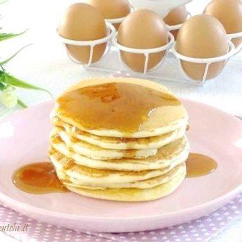 pancake allo sciroppo d'acero