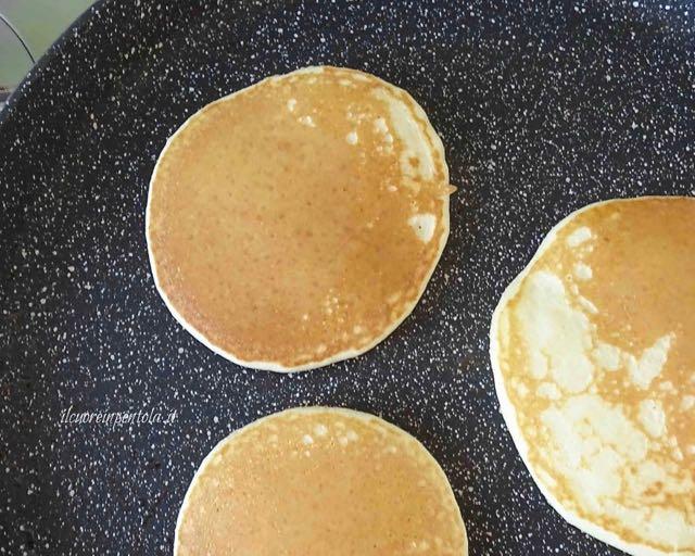 cottura perfetta pancake