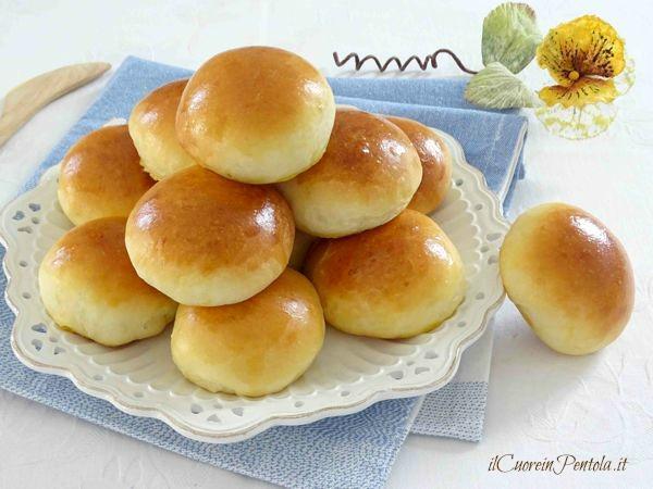 Ricetta di panini dolci