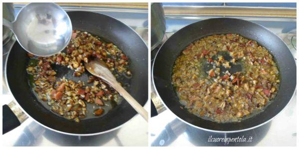 cuocere sugo di castagne