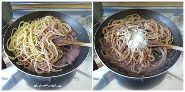 mantecare spaghetti