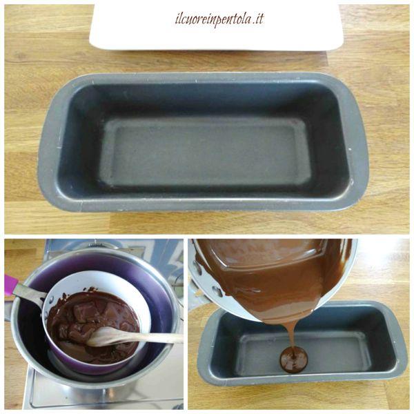 sciogliete il cioccolato fondente