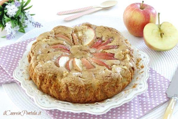 torta di mele integrale