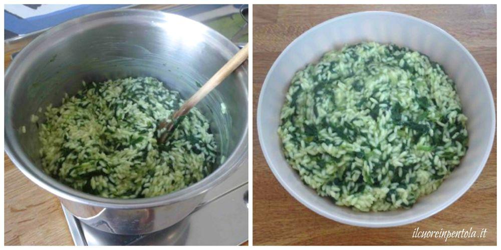 raffreddare riso
