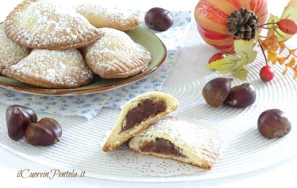 Biscotti Di Natale Quel Che Passa Il Convento.Biscotti Con Crema Di Castagne Ricetta Il Cuore In Pentola