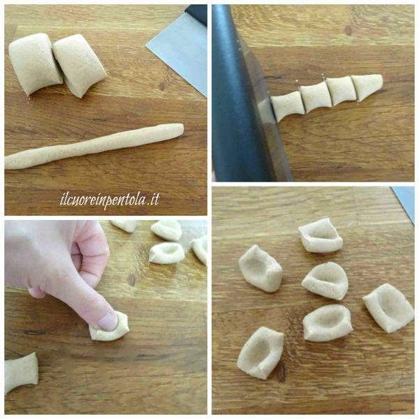 realizzare gnocchi di castagne