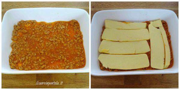 preparare pasticcio di polenta