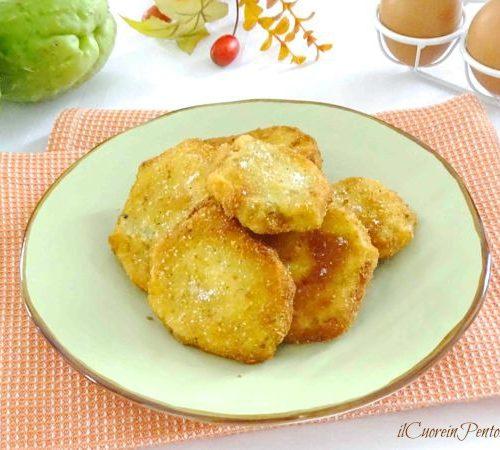 Ricetta Zucchine Spinose In Padella.Zucchine Spinose Impanate E Fritte Ricetta Il Cuore In Pentola