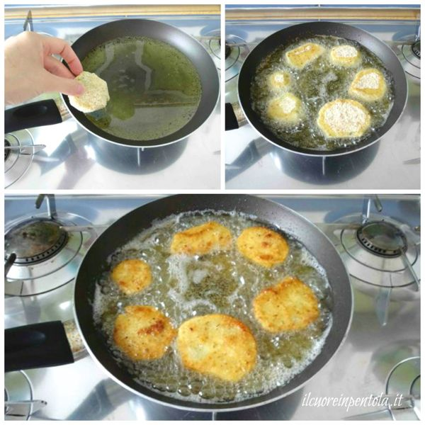 friggere zucchine impanate
