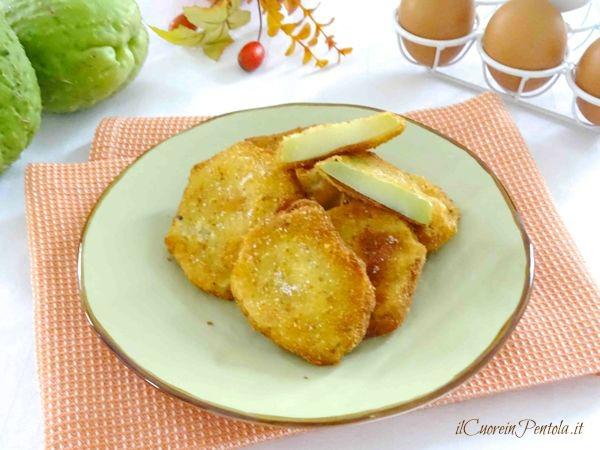 zucchine spinose impanate e fritte