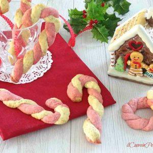 biscotti candy cane