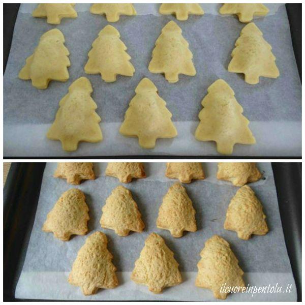 infornare biscotti