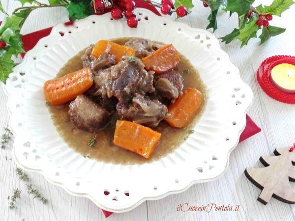boeuf bourguignon ricetta