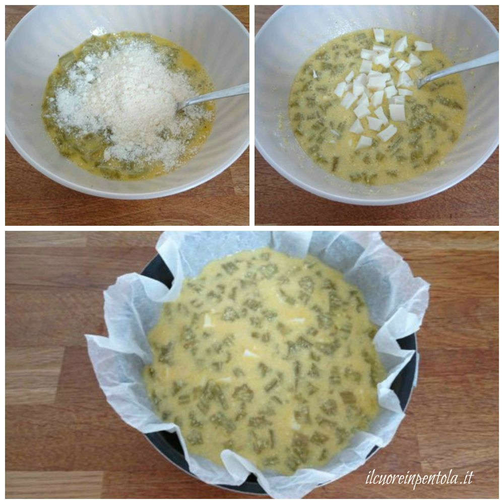 aggiungere formaggio grattugiato