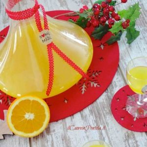 liquore all'arancia ricetta
