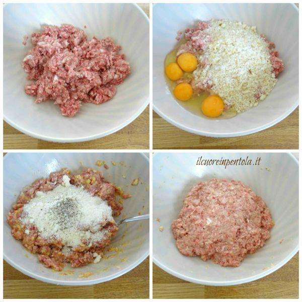 condire carne macinata