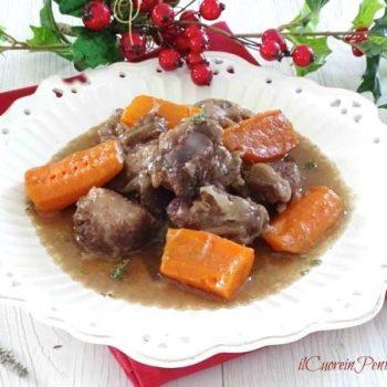ricetta boeuf bourguignon