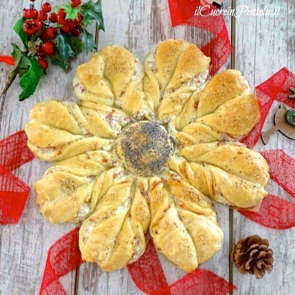 stella di pasta sfoglia salata