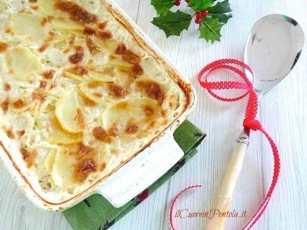 tortino di patate e cipolle