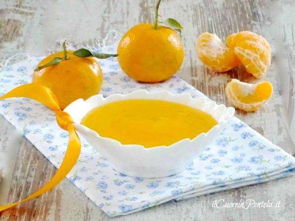 crema al mandarino