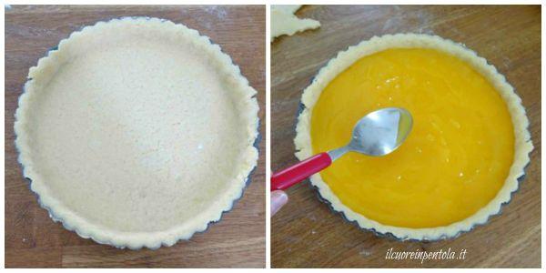 aggiungere crema al mandarino