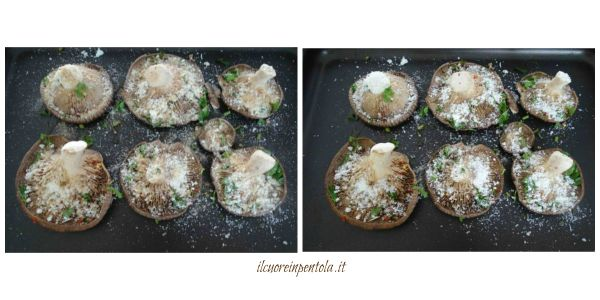 aggiungere formaggio e pangrattato
