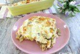 Pasta con carciofi e ricotta al forno