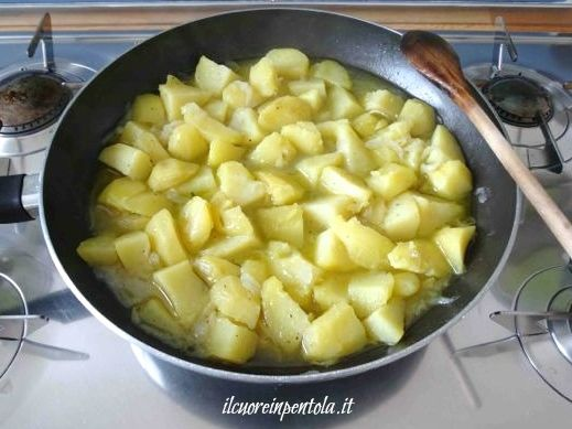 patate in umido cotte