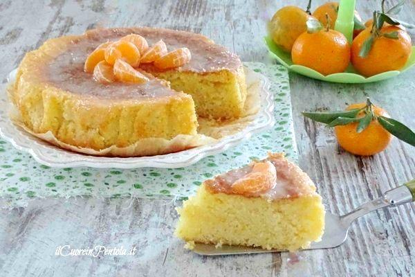 torta soffice al mandarino