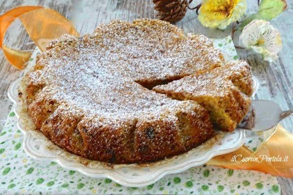 torta con pandoro