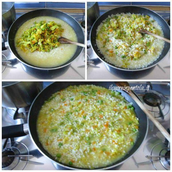 aggiungere verdure