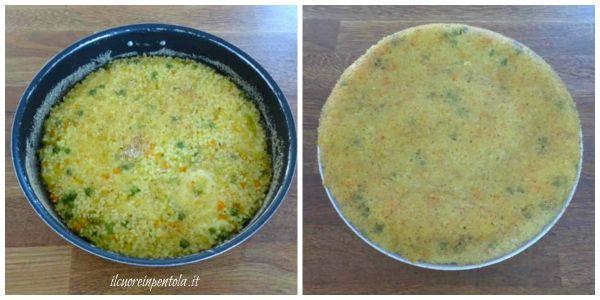 cottura timballo di riso