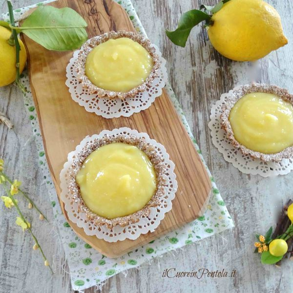 crostata lemon curd