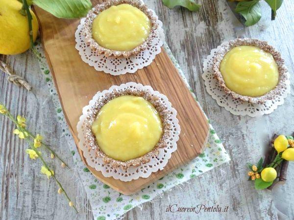 crostata lemon curd