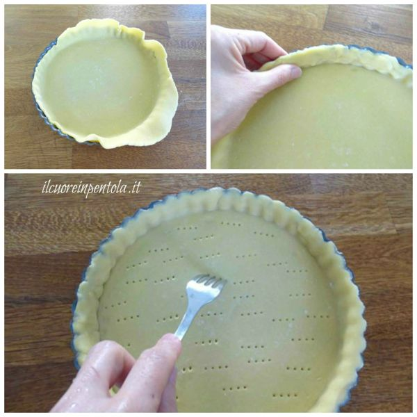 bucherellare fondo crostata
